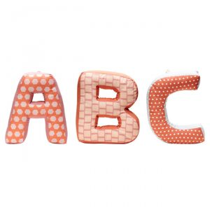 Letras decorativas ABC Edvin