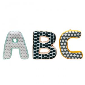 Letras decorativas ABC Neo